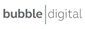 Bubble Digital Logo